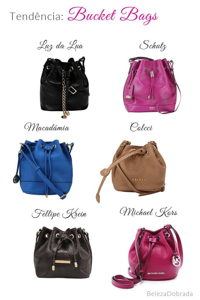 Onde comprar bolsa saco (bucket bag) - nossas escolhas