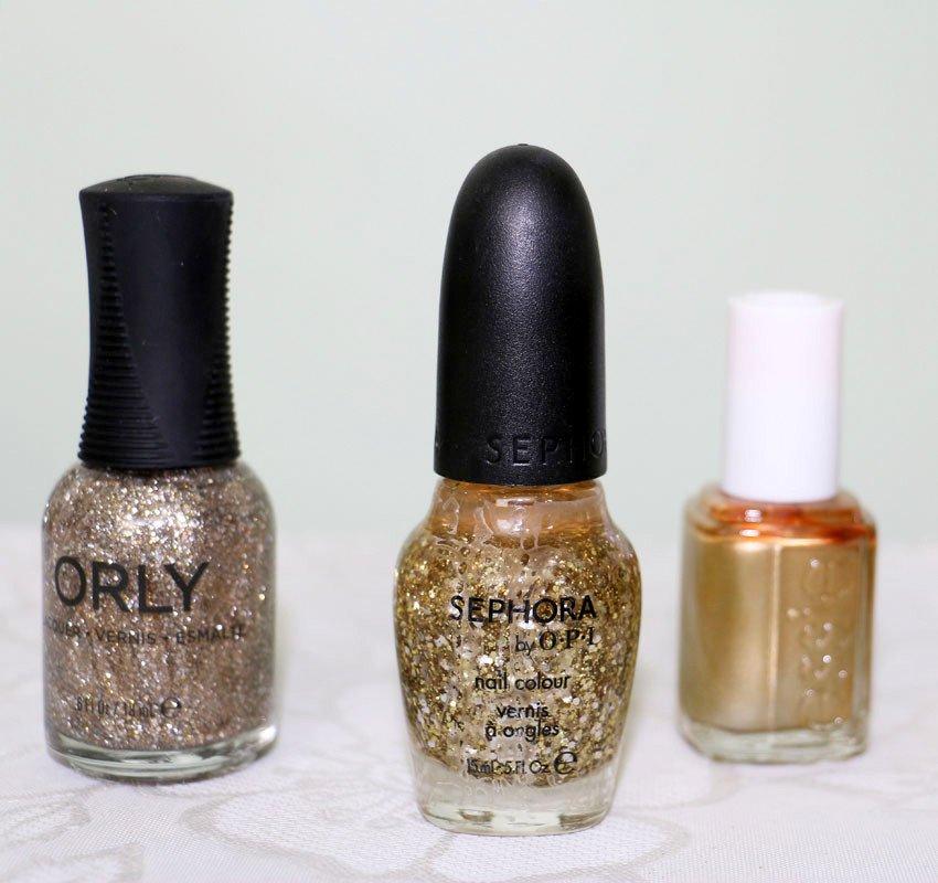 esmalte-dourado-sephora-opi-essie-orly