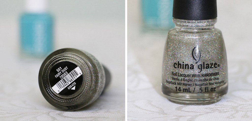Esmalte com glitter lindo - China Glaze Fairy Dust
