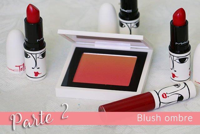 Resenha e swatch do blush ombre Ripe Peach da coleção Isabel e Ruben Toledo para MAC