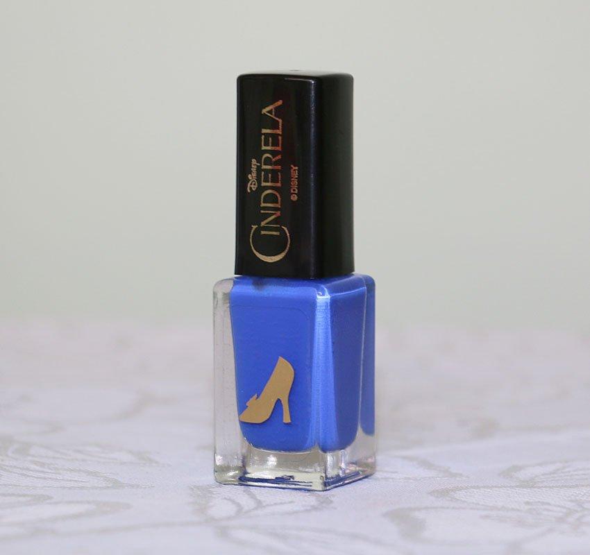 Esmalte azul Fada Madrinha - Cinderela da View Cosméticos