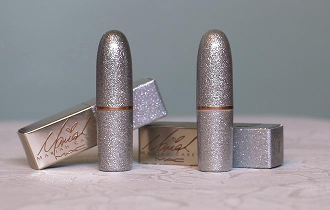 Embalagem dos batons da Mariah Carey para MAC Cosmetics